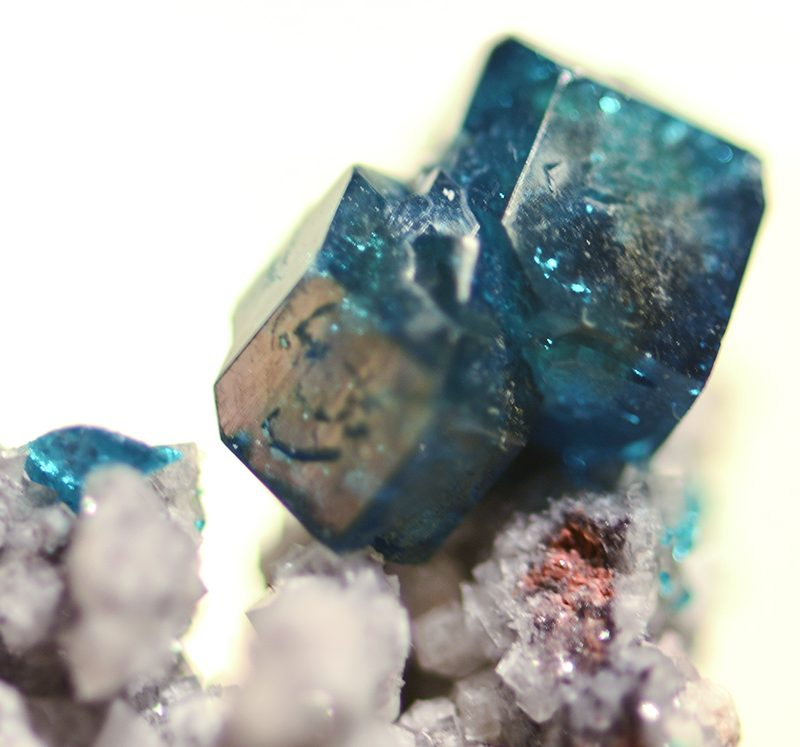 Dioptase Crystals from Namibia